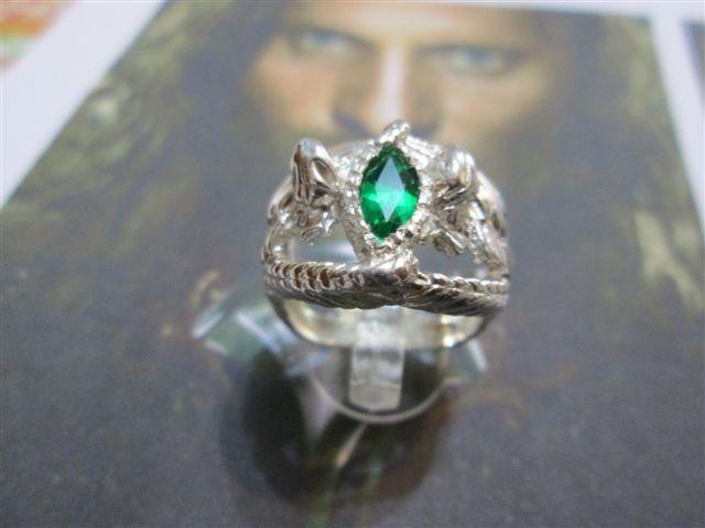 Popolare Anelli in Argento : Anello di Aragorn BM22