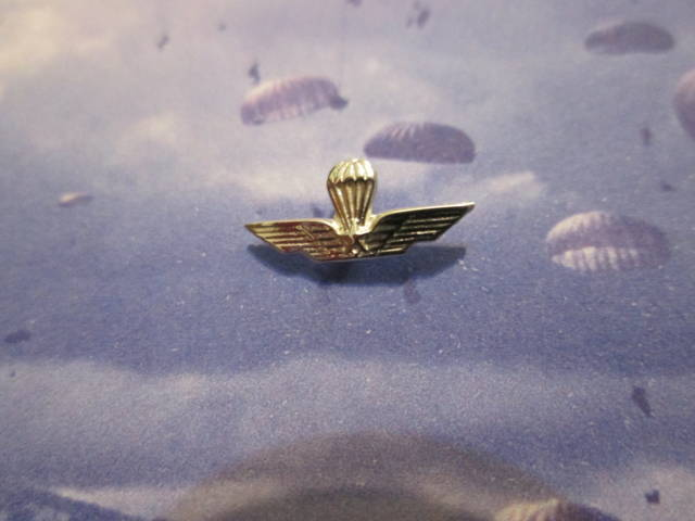 Brevetto Paracadutisti - Spilla (Argento) - Paratroopers Patent - Pin (Silver)