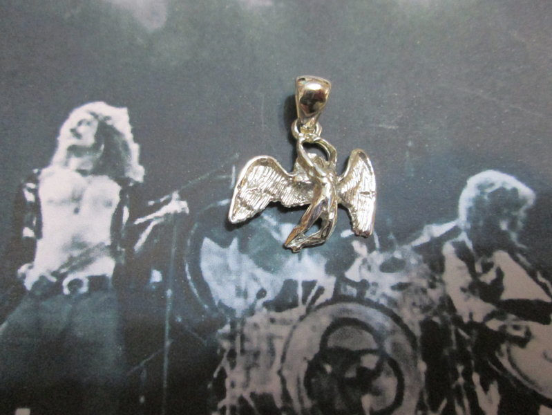 Angelo dei Led Zeppelin - Ciondolo (Argento) - Led Zeppelin Angel - Pendat (Silver)
