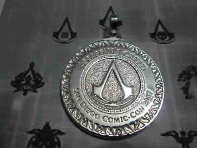 Assassin's Creed Comic-Con - Medaglia (Argento) - Assassin's Creed Comic-Con - Pendat (Silver)