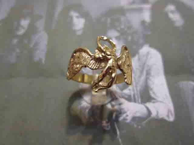 Anello dei Led Zeppelin (Oro) - Led Zeppelin Ring (Gold)