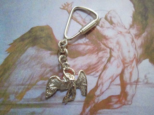 Angelo dei Led Zeppelin - Portachiavi (Argento) - Led Zeppelin Angel - Keyring (Silver)