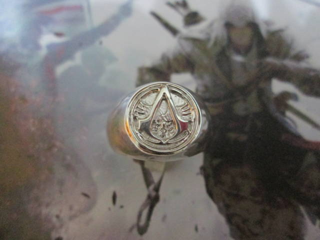 Assassin's Creed - Anello Grande (Argento) - Assassin's Creed - Big Ring (Silver)