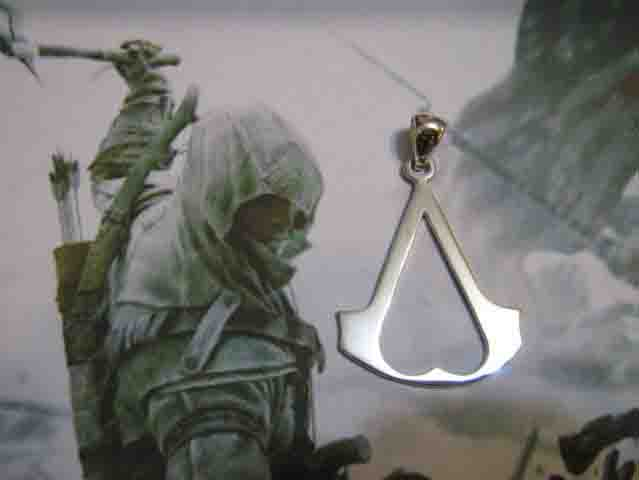 Assassin's Creed Logo - Ciondolo (Argento) - Assassin's Creed Logo - Pendat (Silver)