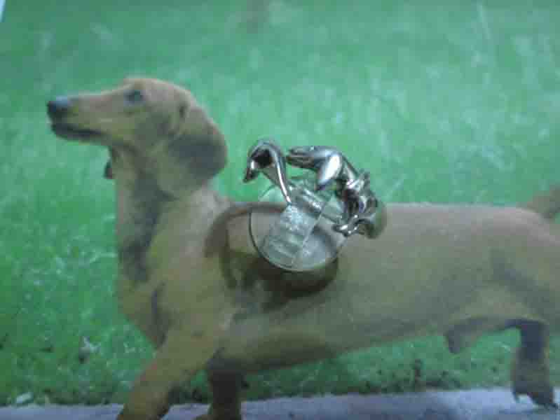 Bassotto - Anello (Argento) - Dachshund - Ring (Silver)