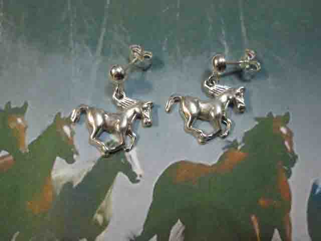 Cavallo - Orecchini (Argento) - Horse - Earrings (Silver)