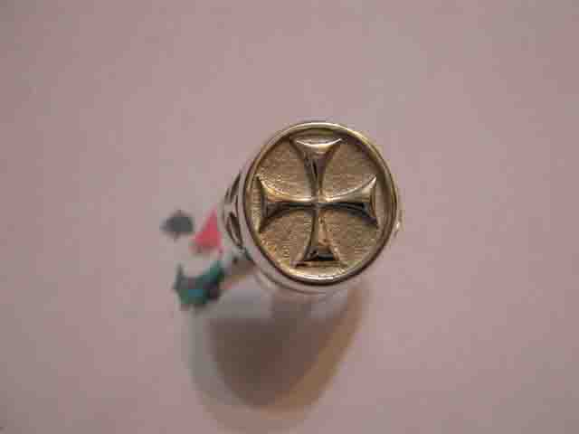 Croce di Malta - Anello (Argento) - Maltese Cross - Ring (Silver)
