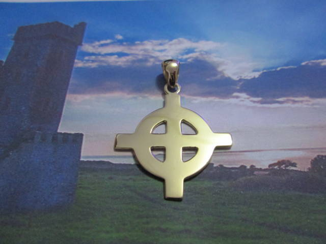 Croce Celtica (Grande) (Oro) - Celtic Cross (Big) (Gold)