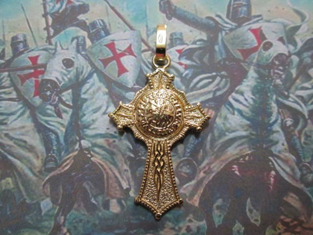 Croce Templare (Oro) - Templar Cross (Gold)
