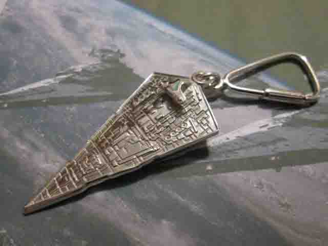 Vascello Destroyer - Portachiavi (Argento) - Imperial Star Destroyer - Keyring (Silver)