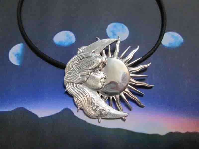 Donna Luna e Sole (Argento) - Lady Moon and Sun (Silver)