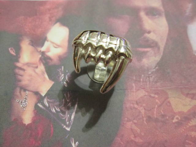 Dracula - Anello (Argento) - Dracula - Ring (Silver)