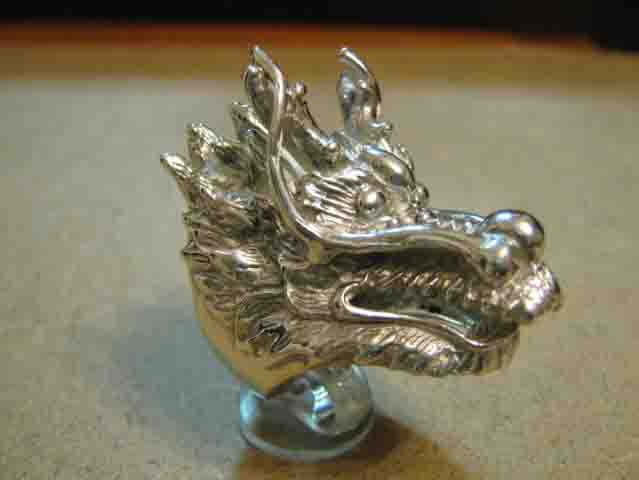 Drago Cinese - Anello (Argento) - Chinese Dragon - Ring (Silver)