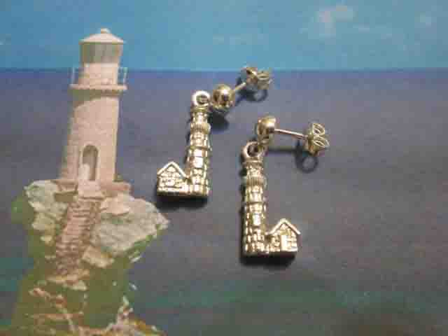 Il Faro - Orecchini (Argento) - The Lighthouse - Earrings (Silver)