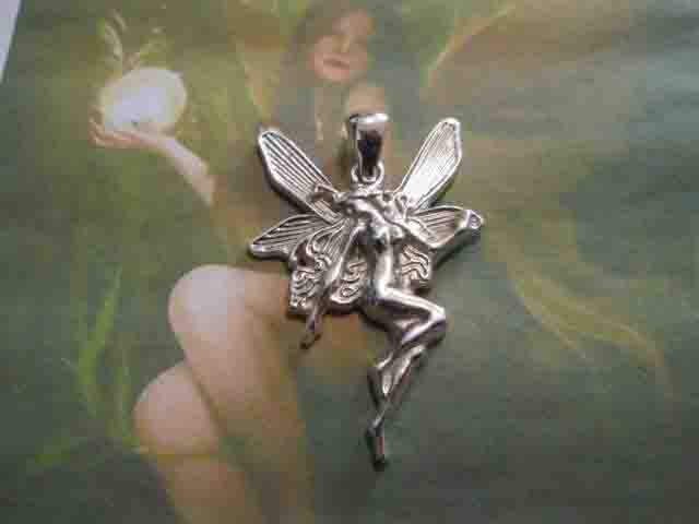 Fata del Cuore - Ciondolo (Argento) - Fairy of the Heart - Pendant (Silver)