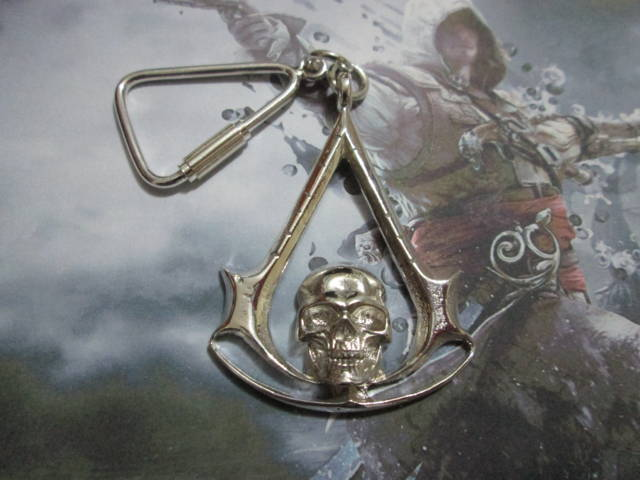 Assassin's Creed Black Flag - Portachiavi (Argento) - Assassin's Creed Black Flag - Keyring (Silver)