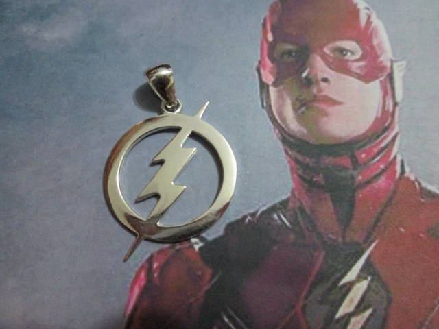 The Flash - Ciondolo (Argento) - The Flash - Pendant (Silver)