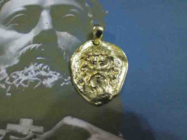 Testa di Gesù Cristo (Oro) - Head of Jesus Christ (Gold)