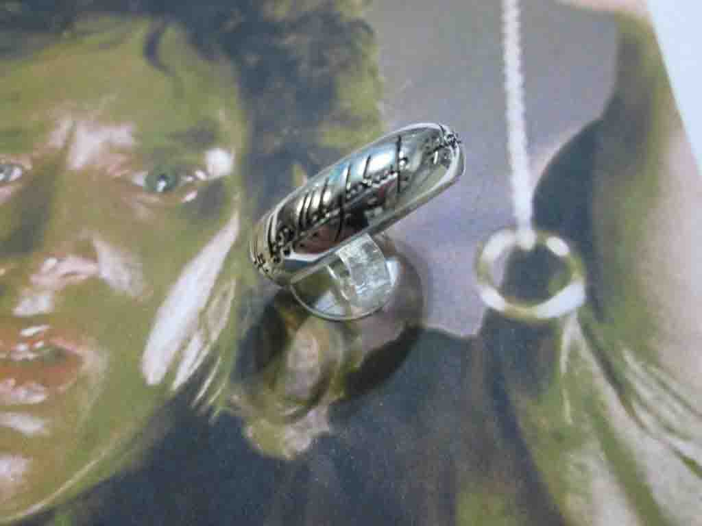Unico Anello - Grande (Argento) - One Ring - Big (Silver)