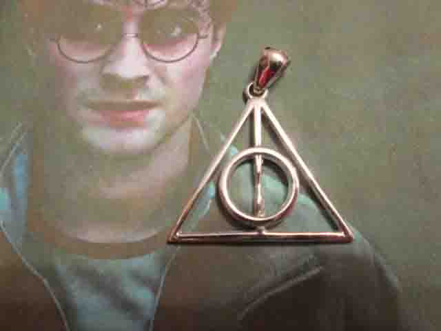 I Doni della Morte - Ciondolo (Argento) - The Deathly Hallows - Pendant (Silver)