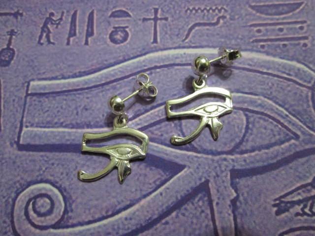 Occhio di Horus - Orecchini - The Eye of Horus - Earrings