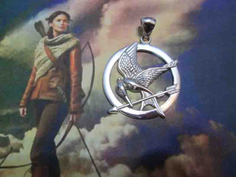 The Hunger Games - Ciondolo (Argento) - The Hunger Games - Pendant (Silver)