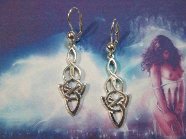 Intreccio Celtico - Orecchini (Argento) - Celtic Weave - Earrings (Silver)