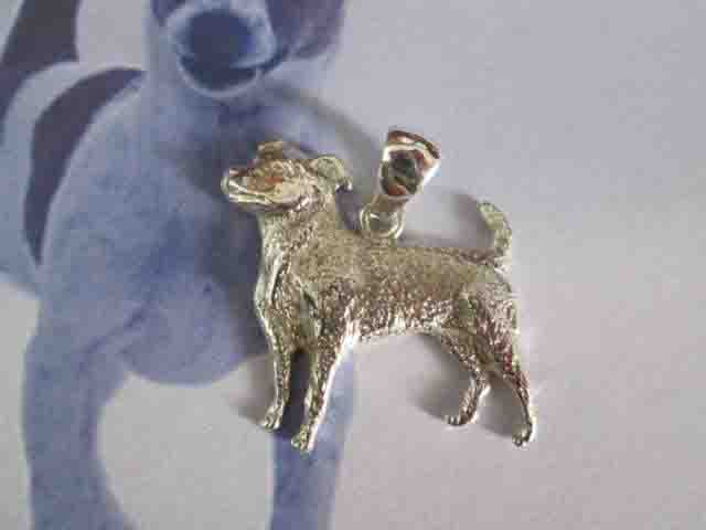 Jack Russell - Ciondolo (Argento) - Jack Russell - Pendant (Silver)