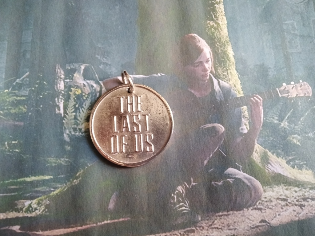 The Last of Us NUOVA VERSIONE - Ciondolo (Argento) - The Last of Us NEW VERSION - Pendant (Silver)