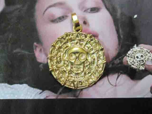 La Moneta Maledetta - Ciondolo (Oro) - The Cursed Coin - Pendant (Gold)