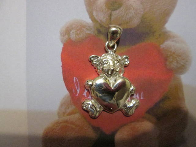 L'Orso e il Cuore (Argento) - The Bear and the Heart (Silver)