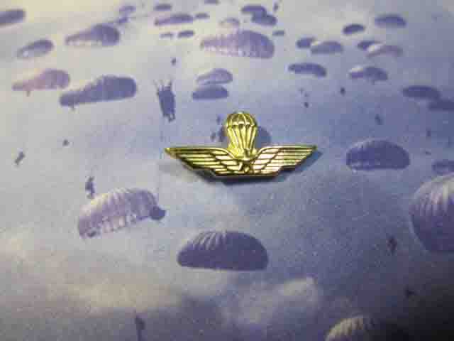 Brevetto Paracadutisti - Spilla (Oro) - Paratroopers Patent (Gold)