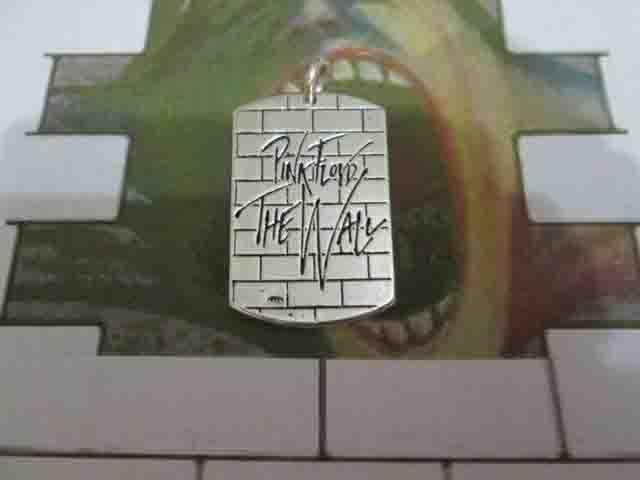 The Wall - Pink Floyd - Ciondolo (Argento) - The Wall - Pink Floyd  - Pendant (Silver)