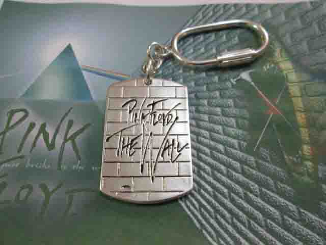 The Wall - Pink Floyd - Portachiavi (Argento) - The Wall - Pink Floyd - Keyring (Silver)