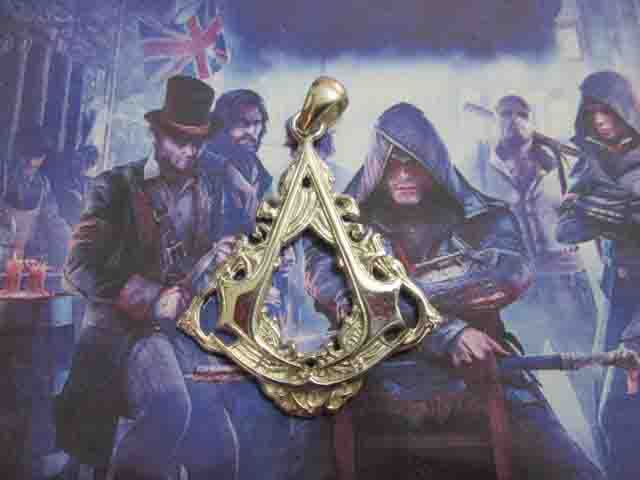 Assassin's Creed Syndicate - Ciondolo (Argento) - Assassin's Creed Syndicate - Pendat (Silver)