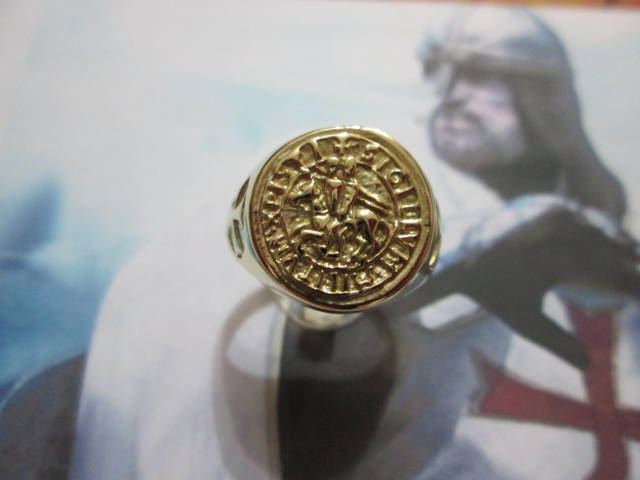 Anello del Templare (Oro) - Templar Knight Ring (Gold)