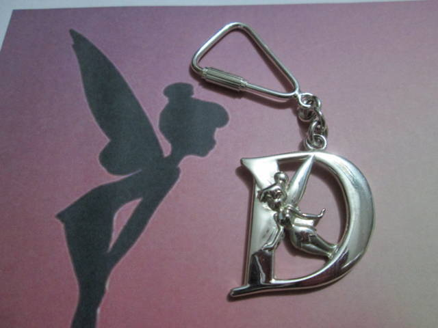 Trilly e D - Portachiavi (Argento) - Tinkerbell and D - Keyring (Solid Silver)