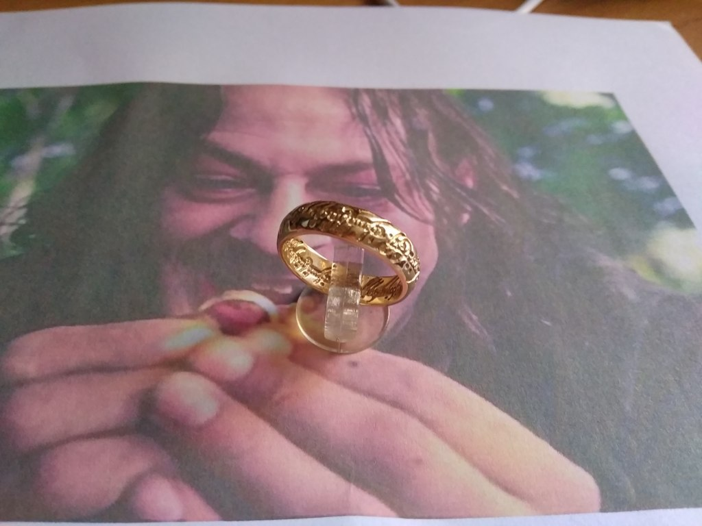 Unico Anello - NUOVA VERSIONE (Oro) - One Ring - NEW VERSION (Gold)